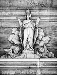 Façade, Parrocchia Santa Maria in Porto, Roman Catholic Church, Ravenna, Italy