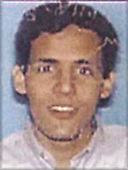 Washington, DC - September 26,  2001 -- Photo released by FBI of  Majed Moqed, one of the alleged hijackers of American Airlines Boeing 757 designated as Flight #77, from Washington Dulles to Los Angeles.  The flight departed Washington Dulles at 8:10 AM on Tuesday, September 11, 2001 and crashed into the Pentagon at 9:39 AM..Credit: FBI via CNP