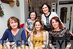 phlebotomy department, University Hospital Kerry, christmas party at Bella Bia's on Friday were Eileen O'Callaghan, Lorraine O Flaherty, Murin Nolan Lucille Sinclair and eileen forde