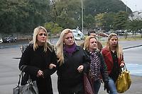SAO PAULO, SP, 25 DE JUNHO DE 2013 -  CASO BIANCA CONSOLI - A irmã de Bianca, Daiane Consoli chega para o julgamento do motoboy Sandro Dota, no Fórum Criminal da Barra Funda em São Paulo, SP, nesta terça-feira (23). Ele é acusado de matar a estudante Bianca Consoli, 19 anos, em setembro de 2011.FOTO: MAURICIO CAMARGO / BRAZIL PHOTO PRESS