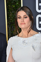 LOS ANGELES, USA. January 06, 2020: Idina Menzel arriving at the 2020 Golden Globe Awards at the Beverly Hilton Hotel.<br /> Picture: Paul Smith/Featureflash