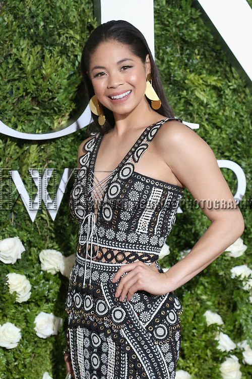 NEW YORK, NY - JUNE 11:  Eva Noblezada attends the 71st Annual Tony Awards at Radio City Music Hall on June 11, 2017 in New York City.  (Photo by Walter McBride/WireImage)