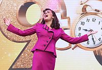 Amber Davies performs at West End LIVE - The weekend where the cast of London's West End theatre's top musicals perform in front of an estimated 100.000 spectators over the two days - and all for free in the iconic setting of Trafalgar Square. June 22nd 2019<br /> <br /> Photo by Keith Mayhew