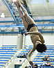 Cameron Yuen of Garden City flips through the air during the Nassau County boys diving championship at Nassau Aquatic Center in East Meadow, NY on Wednesday, Feb. 8, 2017.