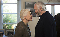 Glenn Close &amp; Jonathan Pryce  <br /> in The Wife (2017)<br /> *Filmstill - Editorial Use Only*<br /> CAP/RFS<br /> Image supplied by Capital Pictures