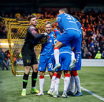 10.11.2019: Livingston v Rangers: Livingston keeper Matija Sarkic joins in the celebrations