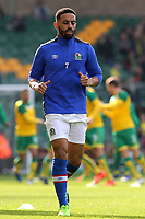 Blackburn Rovers' Liam Feeney during the pre-match warm-up <br /> <br /> Photographer David Shipman/CameraSport<br /> <br /> The EFL Sky Bet Championship - Norwich City v Blackburn Rovers - Saturday 11th March 2017 - Carrow Road - Norwich<br /> <br /> World Copyright &copy; 2017 CameraSport. All rights reserved. 43 Linden Ave. Countesthorpe. Leicester. England. LE8 5PG - Tel: +44 (0) 116 277 4147 - admin@camerasport.com - www.camerasport.com