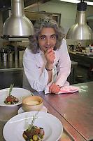 """Europe/France/Provence-Alpes-Cote d'Azur/Vaucluse/Joucas: chef Xavier Mathieu l'"""" Hotel-restaurant Le Phébus, rte de Murs"""