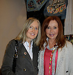 """Jane Elissa, Jacklyn Zeman """"Bobbie Spencer"""" - General Hospital poses with her sister Carol as they join together to raise money for Leukemia and Cancer Research. (Photo by Sue Coflin/Max Photos)"""