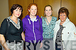 Kay Murphy, Mairead Regan, Elaine McCarthy and Ann Brosnan (all from Convent Primary School Listowel) pictured at the meeting on school cuts in the Brandon hotel on Monday evening.