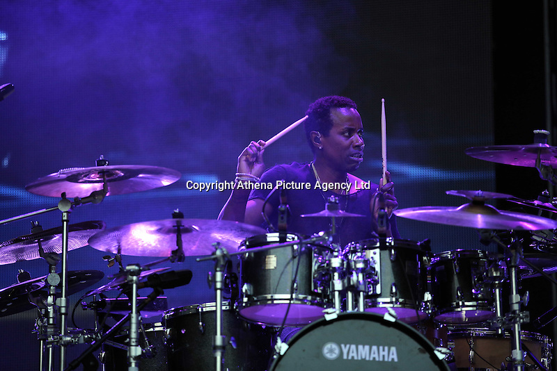 Pictured: Saturday 18 June 2016<br />Re: Lionel Richie, All The Hits concert at the Liberty Stadium, Swansea, Wales, UK