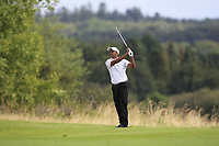 S.S.P Chawrasia (IND) on the 3rd fairway during Round 4 of Made in Denmark at Himmerland Golf &amp; Spa Resort, Farso, Denmark. 27/08/2017<br /> Picture: Golffile | Thos Caffrey<br /> <br /> All photo usage must carry mandatory copyright credit     (&copy; Golffile | Thos Caffrey)
