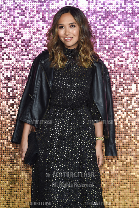 "LONDON, UK. October 23, 2018: Myleene Klass at the world premiere of ""Bohemian Rhapsody"" at Wembley Arena, London.<br /> Picture: Steve Vas/Featureflash"
