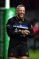 Max Lahiff of Bath Rugby. Heineken Champions Cup match, between Stade Toulousain and Bath Rugby on January 20, 2019 at the Stade Ernest Wallon in Toulouse, France. Photo by: Patrick Khachfe / Onside Images
