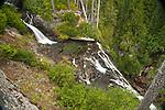 A long exposure of Narada Waterfall, Mt. Rainier National Park