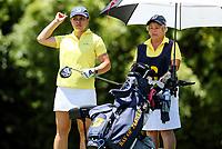 Jordae Ngahue, BOP. Day One of the Toro Interprovincial Women's Championship, Sherwood Golf Club, Whangarei,  New Zealand. Monday 4 December 2017. Photo: Simon Watts/www.bwmedia.co.nz