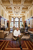 Romesh Wadhwani pictures: executive portrait photography of Romesh Wadhwani of Symphony Technology Group, by San Francisco corporate photographer Eric Millette