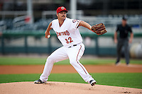 Harrisburg Senators starting pitcher Tyler Mapes (32) during a game against the New Hampshire Fisher Cats on June 2, 2016 at FNB Field in Harrisburg, Pennsylvania.  New Hampshire defeated Harrisburg 2-1.  (Mike Janes/Four Seam Images)