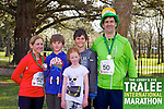 0050 Eoin Burns pictured with his family after taking part in the Kerry's Eye, Tralee International Marathon on Saturday March 16th 2013.