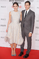 Keira Knightley and James Righton arriving for the Moet British Independent Film Awards 2014, London. 07/12/2014 Picture by: Alexandra Glen / Featureflash