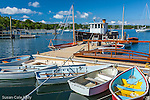 Quisset Harbor in Falmouth, Cape Cod, Massachusetts, USA