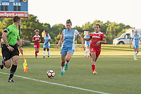 Boyds, MD - Saturday June 03, 2017: Cari Roccaro, Mallory Pugh during a regular season National Women's Soccer League (NWSL) match between the Washington Spirit and Houston Dash at Maureen Hendricks Field, Maryland SoccerPlex.