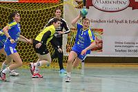 Isabell Hurst (Leipzig) hat den nächsten Angriff der SG WBW abgefangen und leitet den Gegenstoss ein - 10.03.2019: SG Weiterstadt/Braunshardt/Worfelden vs. HC Leipzig, Sporthalle Braunshardt