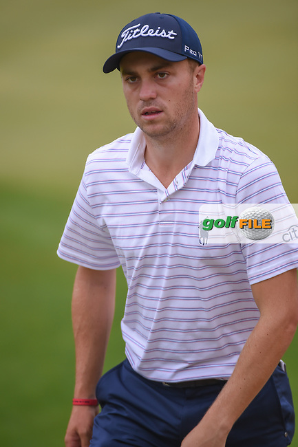 Justin Thomas (USA) heads to the third tee during day 5 of the World Golf Championships, Dell Match Play, Austin Country Club, Austin, Texas. 3/25/2018.<br /> Picture: Golffile | Ken Murray<br /> <br /> <br /> All photo usage must carry mandatory copyright credit (© Golffile | Ken Murray)