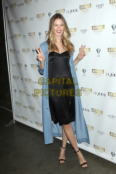NEW YORK, NY - MARCH 23: Supermodel Behati Prinsloo celebrates the launch of BEHATI JUICY COUTURE BLACK LABEL Los Angeles at PHD at the Dream Downtown on March 23, 2016 in New York City. <br /> CAP/MPI99<br /> &copy;MPI99/Capital Pictures