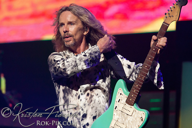 Styx performing at MGM Grand Theater at Foxwoods Casino on July 8, 2011