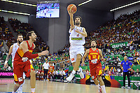 Serbia´s TEODOSIC, Milos during 2014 FIBA Basketball World Cup Group Phase-Group A, match Serbia vs Spain. Palacio  Deportes of Granada. September 4,2014. (ALTERPHOTOS/Raul Perez)