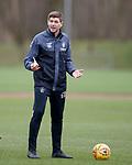 21.02.2019: Rangers training: Steven Gerrard