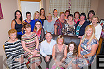 BIRTHDAY:Family and Friends of Ina Kean's gathered at her home Cool Na Clasha, Tralee  on Saturday to celebrated her 60th birthday.