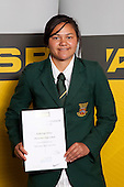 All Rounder Award winner Kahurangi Peters from Manurewa High School. ASB College Sport Young Sportsperson of the Year Awards held at Eden Park, Auckland, on November 11th 2010.