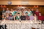 SILVER WEDDING: Family and friends of Billy and Mary O'Connor (pictured centre) from Athea thew a surprise dinner in Leens Hotel, Abbeyfeale to celebrate their 25th wedding anniversary.