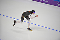 OLYMPIC GAMES: PYEONGCHANG: 15-02-2018, Gangneung Oval, Long Track, 10.000m Men, Moritz Geisreiter (GER), ©photo Martin de Jong