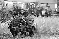 - Slovenian militia during the independence war of July 1991<br />
