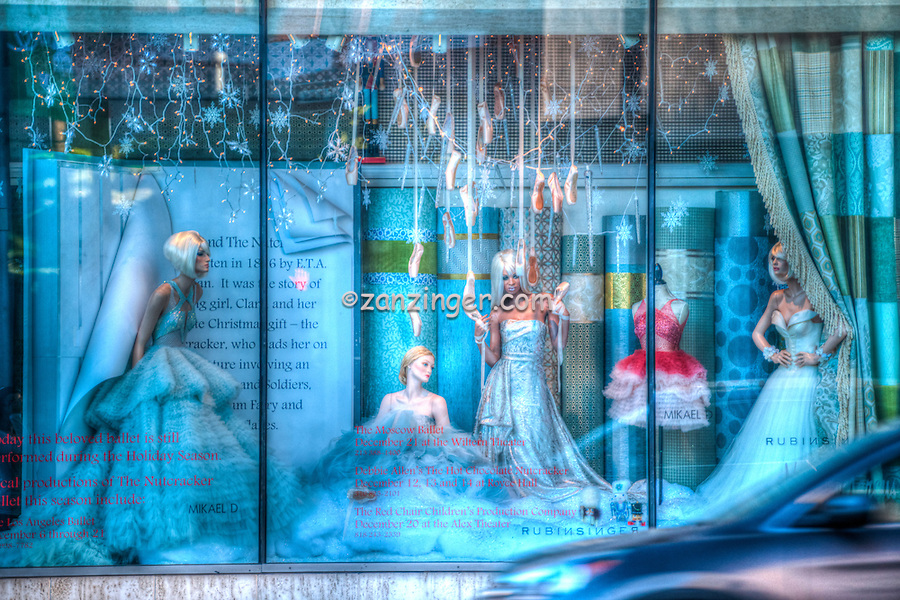 Neiman Marcus, Beverly Hills CA. American luxury specialty department store, fashion and designer merchandise