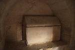 Israel, Shephelah, burial cave in Hurvat Midras