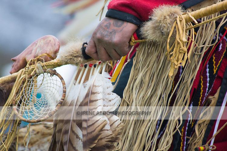Native American dancer at the Healing Horse Spirit PowWow