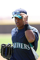 Guillermo Pimentel, Seattle Mariners 2010 minor league spring training..Photo by:  Bill Mitchell/Four Seam Images.