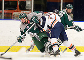 Tim Visich (Plymouth State - 8), ?, Brian Hanafin (Salem State - 8), Seth Phelan (Plymouth State - 17) - The visiting Plymouth State University Panthers defeated the Salem State University Vikings 3-2 on Thursday, December 1, 2011, at Rockett Arena in Salem, Massachusetts.