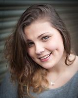 Headshot of actress Beth Hart. Manchester, United Kingdom, 13/03/14.