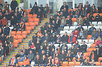 Blackpool fans watch their team in action <br /> <br /> Photographer Kevin Barnes/CameraSport<br /> <br /> The EFL Sky Bet League One - Blackpool v Oxford United - Saturday 23rd February 2019 - Bloomfield Road - Blackpool<br /> <br /> World Copyright © 2019 CameraSport. All rights reserved. 43 Linden Ave. Countesthorpe. Leicester. England. LE8 5PG - Tel: +44 (0) 116 277 4147 - admin@camerasport.com - www.camerasport.com