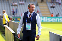 England Under21 manager Aidy Boothroyd before Slovakia Under-21 vs England Under-21, UEFA European Under-21 Championship Football at The Kolporter Arena on 19th June 2017