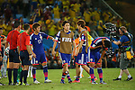 Yasuhito Endo (JPN), <br /> JUNE 24, 2014 - Football /Soccer : <br /> 2014 FIFA World Cup Brazil <br /> Group Match -Group C- <br /> between Japan 1-4 Colombia <br /> at Arena Pantanal, Cuiaba, Brazil. <br /> (Photo by YUTAKA/AFLO SPORT)