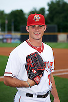 Harrisburg Senators pitcher Nick Lee (29) poses for a photo before a game against the New Hampshire Fisher Cats on June 2, 2016 at FNB Field in Harrisburg, Pennsylvania.  New Hampshire defeated Harrisburg 2-1.  (Mike Janes/Four Seam Images)