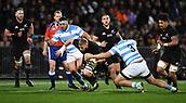 9th September 2017, Yarrow Stadium, New Plymouth. New Zealand; Supersport Rugby Championship, New Zealand versus Argentina; Luke Romano