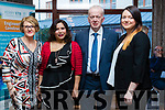 Pictured at the Kerry ETB Manual and Computerised Payroll and Book-keeping, Certificate Ceremony  at the Rose Hotel, Tralee, on Thursday, April 6th last were l-r: Marie Cummings, Fauziah Binti Hasan, Mike Quinlan (Course Instructor) and Margaret McCarthy.