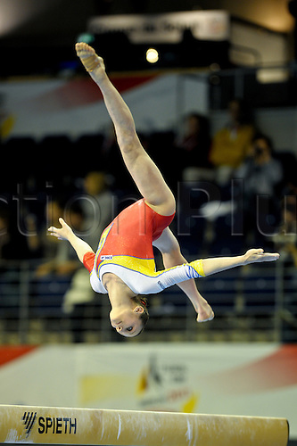 6.4.11 European Gymnastics Championships Berlin. Womens Qualifications. Ana Porgras of Romania.